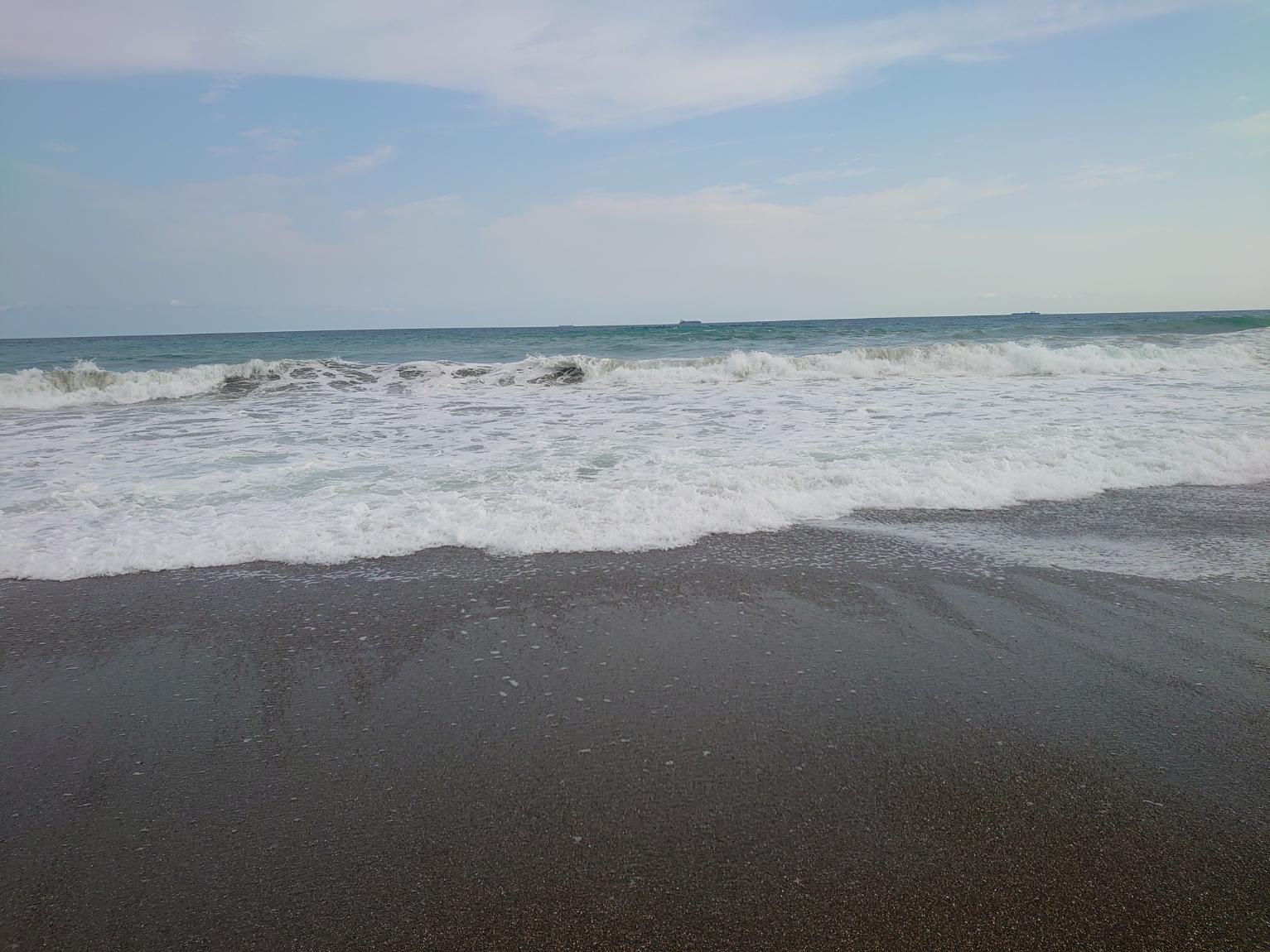 波が高い海
